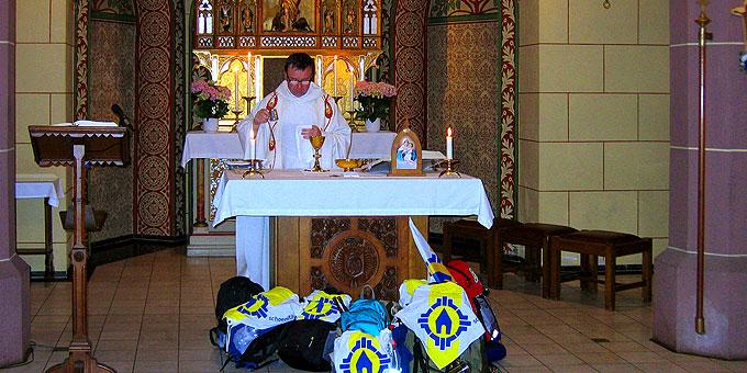 Gottesdienst unterwegs: Redemptoristenkloster in Bonn (Foto: Schulte)