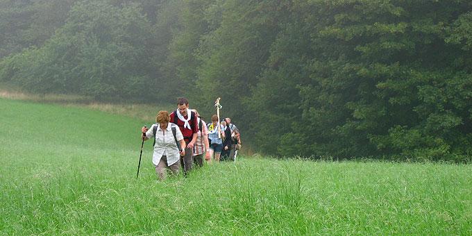 Auf idyllischen Wegen (Foto: Schulte)
