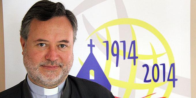 Pater Patricio Moore (Foto: C.Mann SICT)