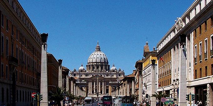 Zweites Ziel der Jubiläumswallfahrt der Schönstatt-Bewegung ist Rom (Foto: Berthold Werner Wikipedia)