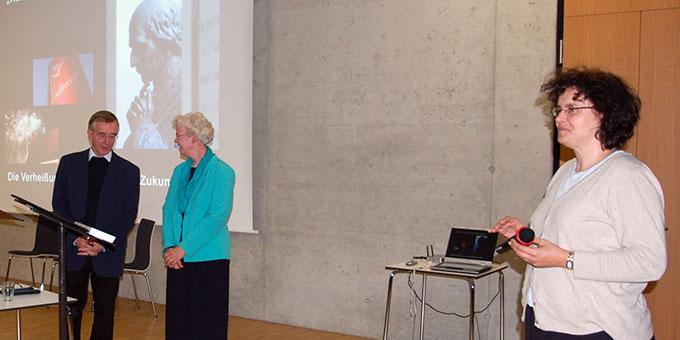 Moderation: Dekanatsreferentin Christiane Schall, Koblenz (Foto: Brehm)