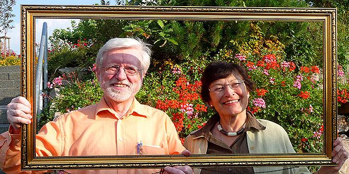 Rosa Maria und Josef Wieland sind beim Jubiläum 2014 verantwortlich für das Bündniskulturzelt Ehe und Familie (Foto: privat)