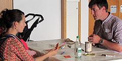 """Kreativangebot """"Du bist (m)ein Schatz"""" beim Tag zu zweit (Foto: SAL)"""