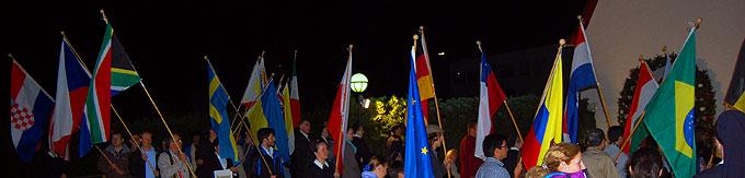 Ankunft der Prozession am Urheiligtum (Foto: Brehm)