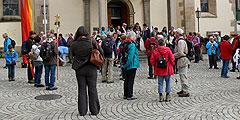 Start im Dom in Rottenburg (Foto: Hirscher)
