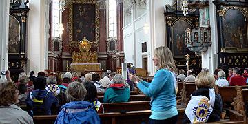 Statio in der Wallfahrtskirche Weggental (Foto: Hirscher)