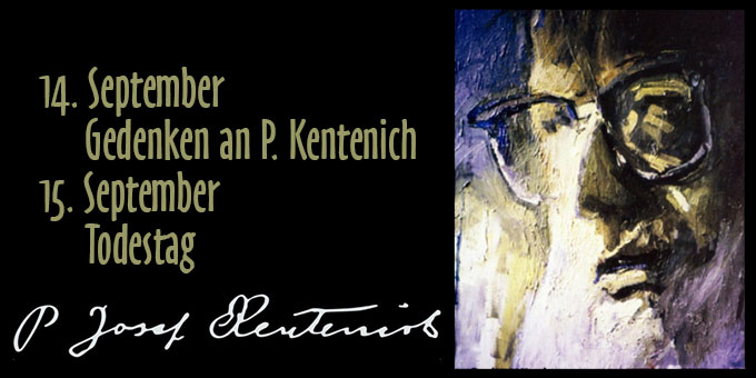 Todestag Pater Josef Kentenich (Grafik: Brehm)