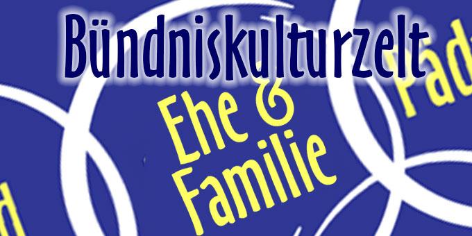 Bündniskulturzelt Ehe und Familie (Grafik: schoenstatt2014.org)