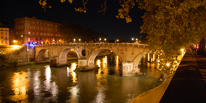 Ponte Sisto über den Tiber (Foto: Brehm)
