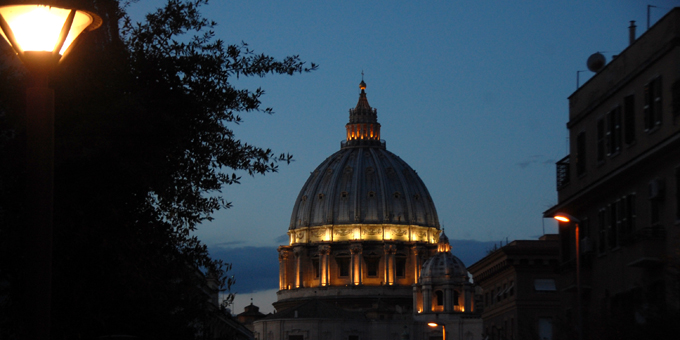 Peterskuppel, Rom (Foto: Brehm)