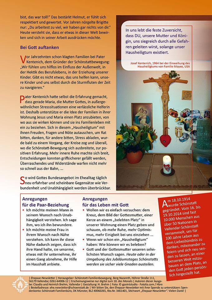 """Ehepaar-Newsletter 10/2014 """"Wir zwei - Immer wieder neu"""" S.2 (Foto: © gpointstudio - Fotolia.com)"""