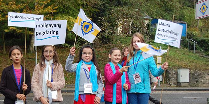 Schülerinnen der Schönstätter Marienschule beteiligen sich (Foto: Brehm)