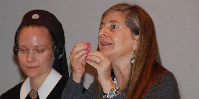Alejandra Garcia-Huidobro (rechts), Santiago de Chile (Foto: Brehm)