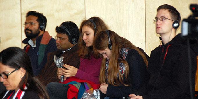 Interessiertes Publikum (Foto: Brehm)