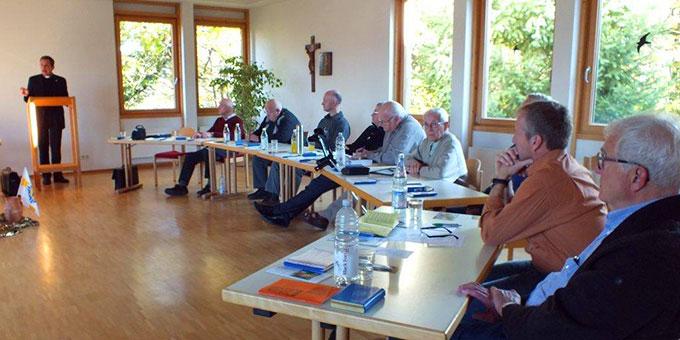 Vortrag bei den Männerexerzitien in Oberkirch (Foto: Manfred Schemel )