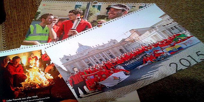 Fackellaufkalender 2015 (Foto: Geyer)