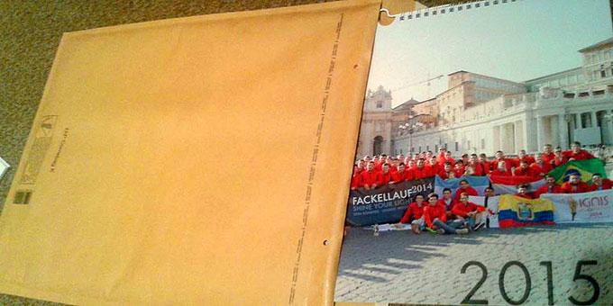 Der Kalender ist für 5€ plus Versandkosten bei Felix Geyer zu bestellen (Foto: Jall)