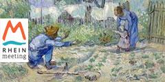 Die ersten Schritte (Gemälde: Vincent van Gogh)