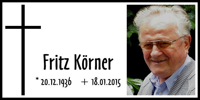 Fritz Körner (Foto: privat)