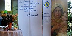 """Plattform für Maria bei der """"Messe weiblich"""" in Geislingen (Foto: Team SbFuM)"""