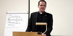 Pfr. Jörg Simon, Referent und priesterlicher Begleiter der Besinnungstage für Männer im Schönstatt-Zentrum Aulendorf (Foto: Bradler)