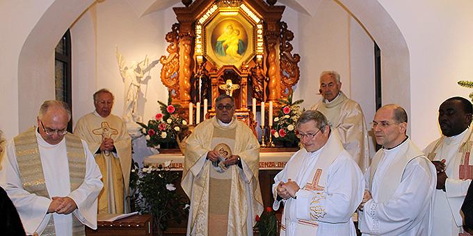 Gebet zum Abschluss im MATRI ECCLESIAE Heiligtum  (Foto: Ali Sol)