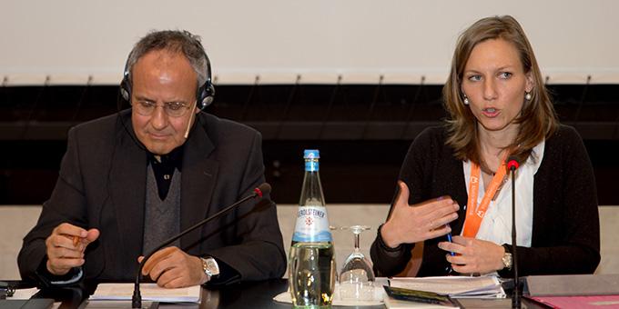 Prof. Julián Carrón, Leiter der Bewegung Comunione e Liberazione (links) (Foto: Otterbach)