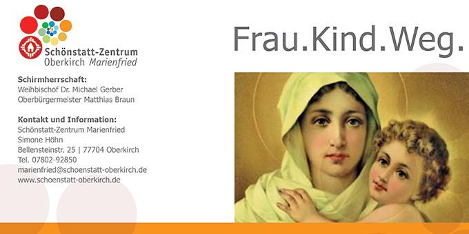 Frau.Kind.Weg - Ausstellung im Schönstatt-Zentrum Oberkirch