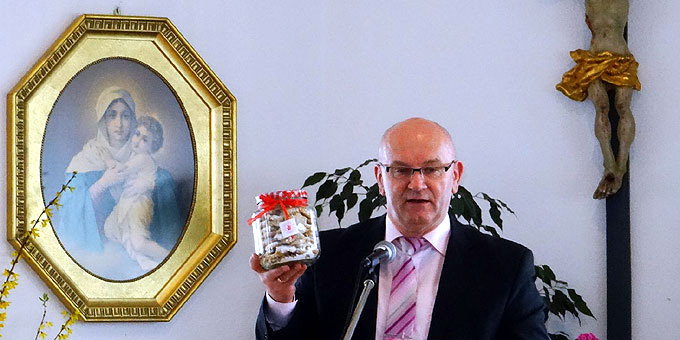 Diözesanführer Franz Bradler beim Männertag in Aulendorf (Foto: Näßler)