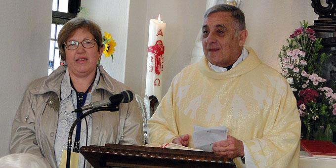 Predigt: Rektor Daniel Lozano, Rom, Italien (Foto: Sr. Nilza)