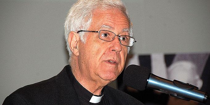 Pater Ángel Strada, Postulator für die Seligsprechung von Pater Kentenich, Vallendar-Schönstatt (Foto: Brehm)