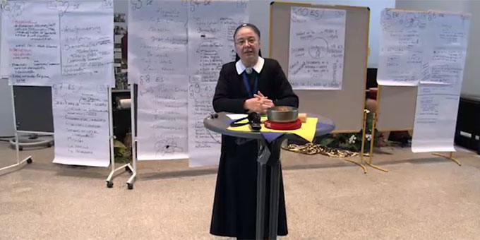 Statements zum Pfingstkongress (Foto: schoenstatt-tv)