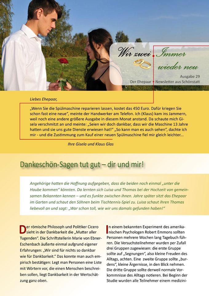 """Ehepaar-Newsletter 05/2015 """"Wir zwei - Immer wieder neu"""" (Foto: © GrasePhoto - Fotolia.com)"""