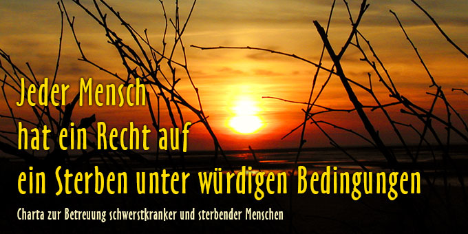 Sterben unter würdigen Bedingungen (Foto: Brehm)
