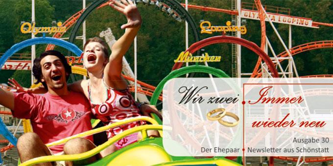 """Ehepaar-Newsletter 06/2015 """"Wir zwei - Immer wieder neu"""" (Foto: © inkebeville - 123RF Stockfoto)"""