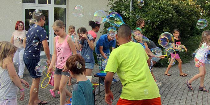 Urlaub besonderer Art bei der Sommertagung Mütter mit Kindern im Schönstatt-Zentrum Liebfrauenhöhe (Foto: Bendel)
