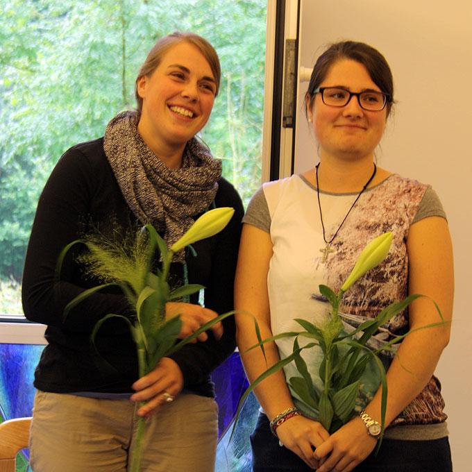 Die neuen Schwarzhornsprecherinnen (Foto: MJF, Sonnenau)