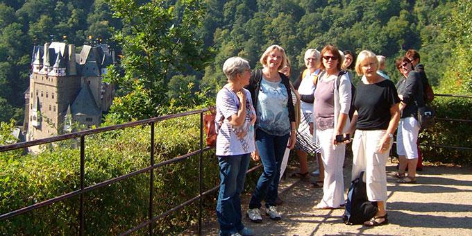 Ausflug zur Burg Eltz (Foto: Brück)