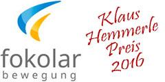 fokolarbewegung Klaus-Hemmerle-Preis