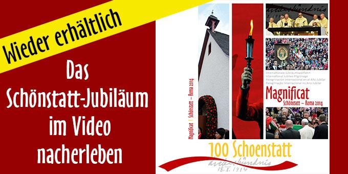 """DVD """"Magnificat. Schönstatt-Rom 2014"""" wieder erhältlich (Foto: AUTOR)"""