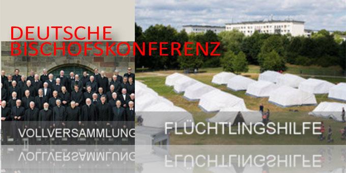 Die Flüchtlingshilfe ist zentrales Thema bei der Herbst-Vollversammlung der deutschen Bischöfe in Fulda (Foto: dbk.de)