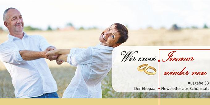 """Ehepaar-Newsletter 09/2015 """"Wir zwei - Immer wieder neu"""" (Foto: © Robert Kneschke - Fotolia.com)"""