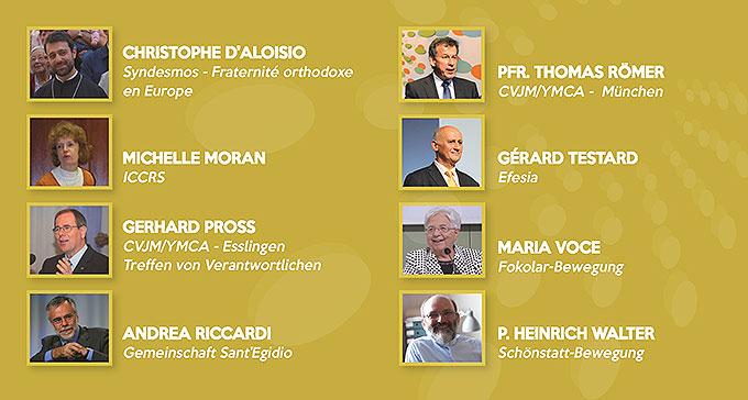 Das Leitungskomitee von Miteinander für Europa (Foto: MfE)