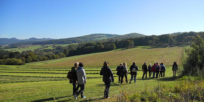 Auf dem Pilgerweg rund um Dietershausen (Foto: Schulz)