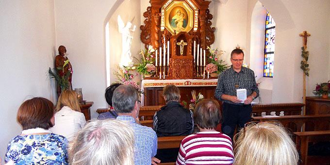 Impuls im Schönstatt-Heiligtum in Dietershausen (Foto: Schulz)