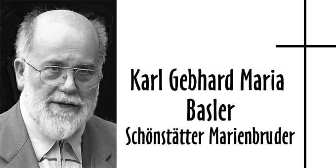 Gebhard Maria Basler (Foto: Marienbrüder)