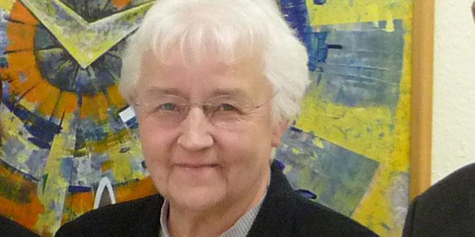 Sr. M. Basina Kloos, Vorsitzende des Vorstandes der Marienhaus Stiftung (Foto: PTHV)