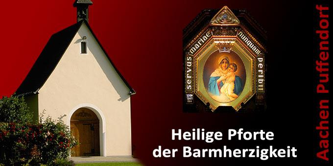 Schönstatt-Heiligtum Aachen-Puffendorf wird zur Heiligen Pforte der Barmherzigkeit (Foto: Weinberg/Gausling)