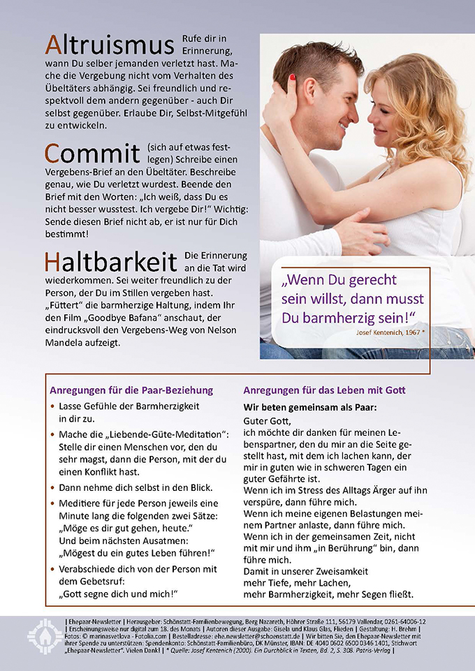 "Ehepaar-Newsletter 11/2015 ""Wir zwei - Immer wieder neu"" (Foto: © marinasvetlova - Fotolia.com)"