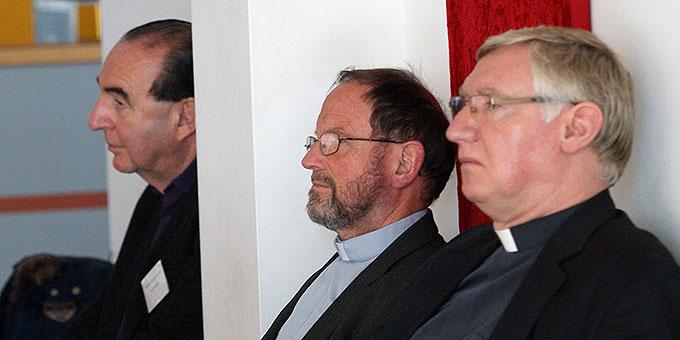 Unter den Teilnehmern der Schönstatt-Bewegung ist auch Pater Ludwig Güthlein (rechts), seit kurzem Leiter der Schönstatt-Bewegung Deutschland (Foto: Bianca Bauer, Aglow)